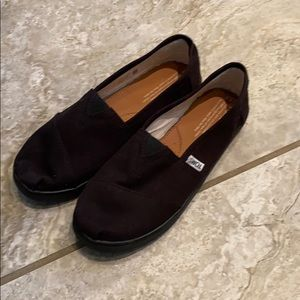 Size 5.5 Toms Classic Black